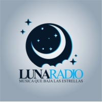Logo of radio station Luna Radio Latina