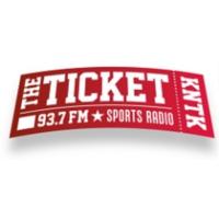 Logo of radio station KNTK 93.7 FM