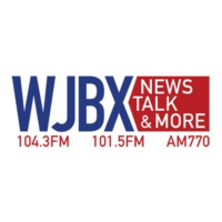 Logo of radio station WJBX News Talk