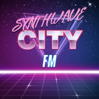 Logo of radio station Synthwave City FM