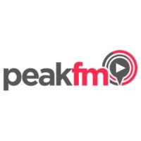 Logo of radio station Peak FM