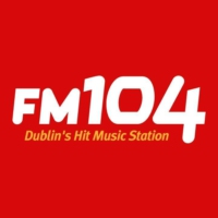 Logo of radio station FM104