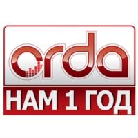 Logo of radio station Orda FM