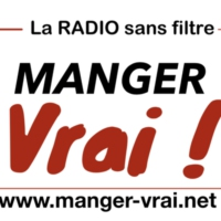 Logo of radio station Manger Vrai
