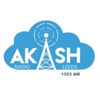 Logo de la radio Akash Radio Leeds