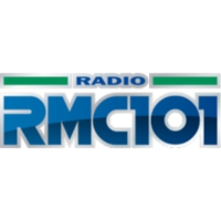 Logo of radio station RMC 101