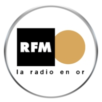 Logo of radio station RFM la radio en or