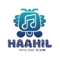 Logo de la radio XHPCHQ Haahil FM 91.3 FM