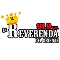 Logo of radio station XHMET La Reverenda 91.9 FM