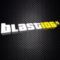 Logo of radio station Blast 106.4