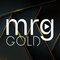Logo of radio station MRG Gold