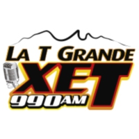 Logo de la radio La T Grande XET 990 AM
