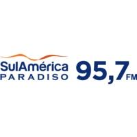 Logo of radio station SulAmérica Paradiso FM