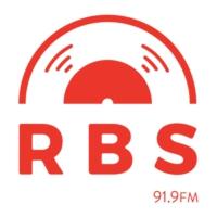 Logo of radio station RBS 91.9 FM