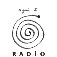 Logo of radio station agnès b. radio (Asia)