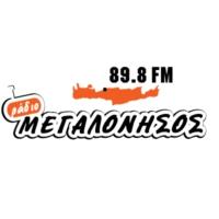 Logo of radio station Rádio Megalónisos 89,8 - Ράδιο Μεγαλόνησος 89,8