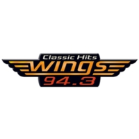 Logo of radio station WGZZ Wings 94.3