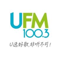 Logo of radio station UFM 100.3