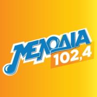 Logo de la radio Melodía 102.4 - Μελωδία 102.4
