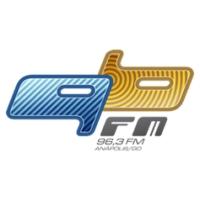 Logo de la radio Rádio 96 FM 96.3 FM Anápolis, GO