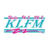 Logo of radio station KLFM
