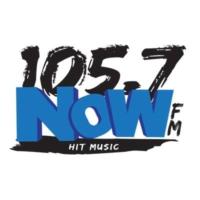 Logo of radio station KZBD 105.7 Now-FM