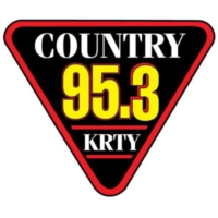 Logo of radio station 95.3 KRTY