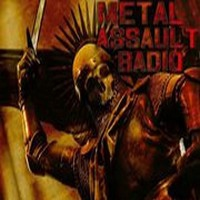 Logo of radio station Metal Assault Radio