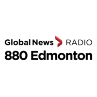 Logo of radio station CHQT-AM 880 Edmonton