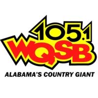 Logo de la radio WQSB 105 FM