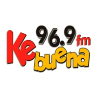 Logo of radio station XHHF Ke Buena FM 96.9