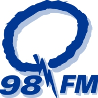 Logo of radio station CJCQ-FM Q98