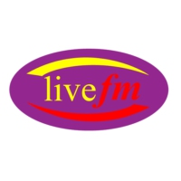 Logo of radio station LiveFM