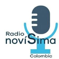 Logo of radio station RADIO NOVISIMA COLOMBIA