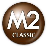 Logo of radio station M2 CLASSIC
