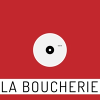Logo of radio station La Boucherie