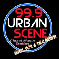 Logo of radio station 99.9 UrbanScene Radio