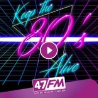 Logo de la radio 47 FM     *80's*