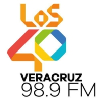 Logo of radio station XHWB LOS40 98.9 FM