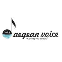 Logo of radio station Aegean Voice 107.5