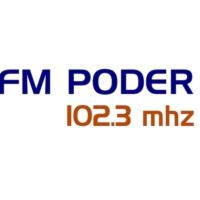 Logo of radio station FM Poder 102.3
