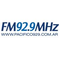 Logo de la radio Pacifico 92.9