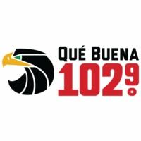 Logo of radio station KLTN Qué Buena 102.9