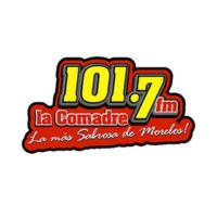 Logo of radio station XHCUT La Comadre 101.7 FM