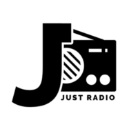 Logo of radio station JustRadio
