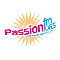 Logo of radio station Passion FM 106.5