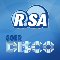 Logo of radio station R.SA 80er Disco
