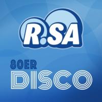 Logo of radio station R.SA 80er Disco
