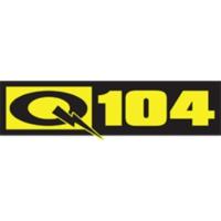 Logo of radio station CKQV-FM Q104