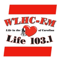 Logo of radio station WLHC Life 103.1